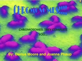 By: Darius Moore and Joanna Phaup