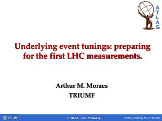 Underlying event tunings: preparing for the first LHC measurements.