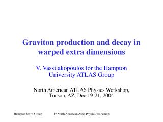Graviton production and decay in warped extra dimensions