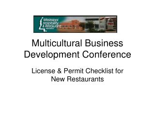 Multicultural Business Development Conference