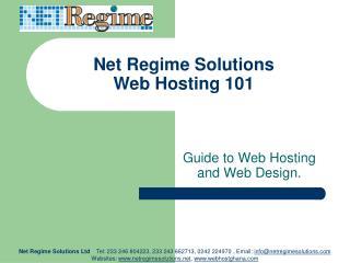 Net Regime Solutions