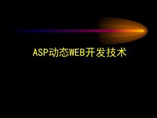 ASP 动态 WEB 开发技术