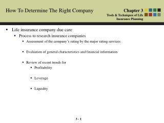 How To Determine The Right Company