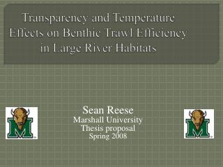 Transparency and Temperature Effects on Benthic Trawl Efficiency in Large River Habitats
