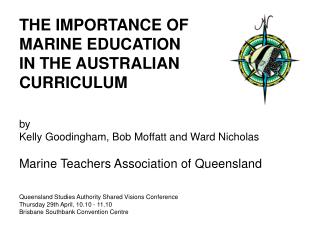 THE IMPORTANCE OF  MARINE EDUCATION  IN THE AUSTRALIAN  CURRICULUM by