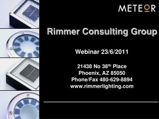 Rimmer Consulting Group