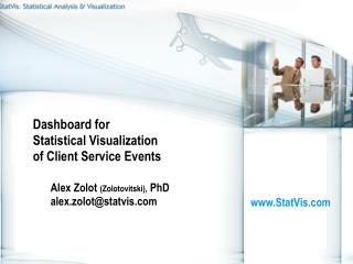 Dashboard for Statistical Visualization of Client Service Events