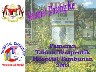 *HOSPITAL  TAMBUNAN*