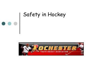 Safety in Hockey