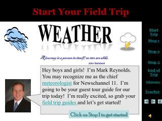 Start Your Field Trip