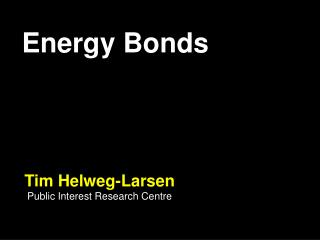 Energy Bonds