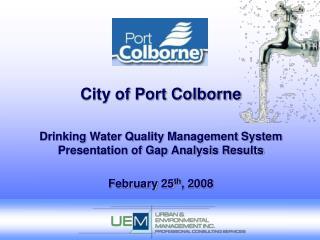 City of Port Colborne