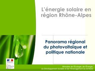 Ministère de l'Écologie, de l'Énergie, du Développement durable et de l'Aménagement du territoire