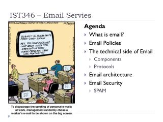 IST346 – Email  Servies