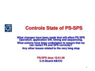 Controls State of PS-SPS