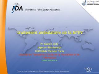 traitement ambulatoire de la MTEV