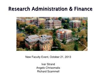 Research  Administration  & Finance