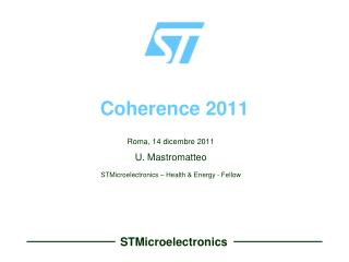 Coherence 2011
