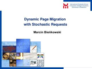 Dynamic Page Migration  with Stochastic Requests