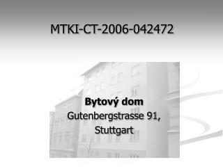 MTKI-CT-2006-042472