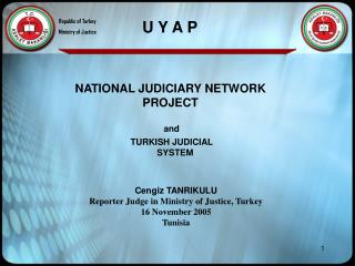 NATIONAL JUDICIARY NETWORK PROJECT