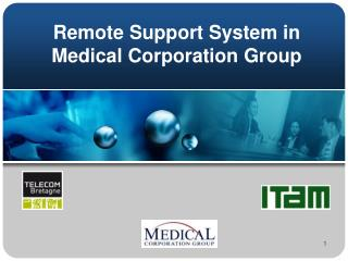Remote Support System in Medical Corporation Group