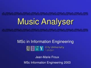 Music Analyser
