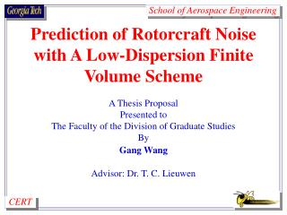 Prediction of Rotorcraft Noise with A Low-Dispersion Finite Volume Scheme