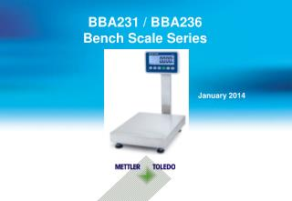 BBA231 / BBA236  Bench Scale Series