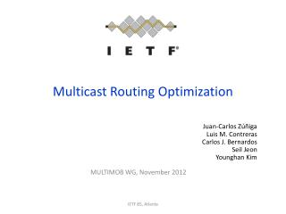 Multicast Routing Optimization