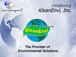KleanEnvi, Inc.