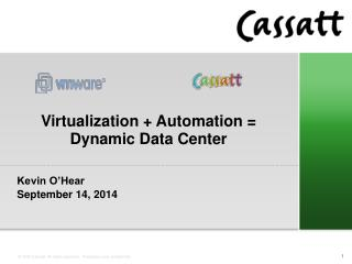 Virtualization + Automation = Dynamic Data Center
