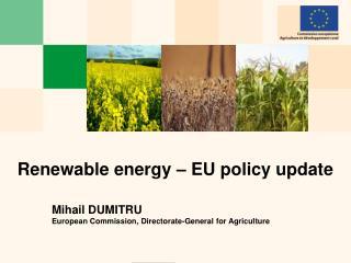 Renewable energy – EU policy update
