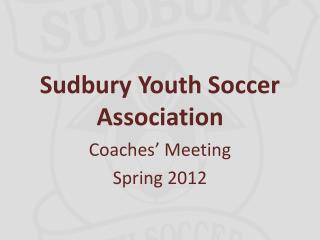 Sudbury Youth Soccer Association
