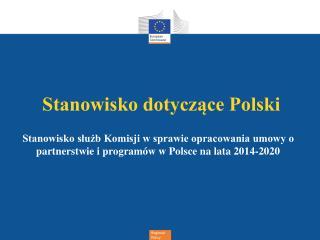 Stanowisko dotyczące Polski