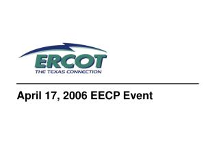 April 17, 2006 EECP Event