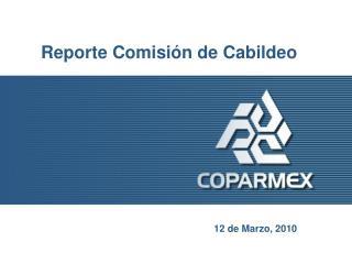 Reporte Comisión de Cabildeo