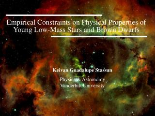Empirical Constraints on Physical Properties of Young Low-Mass Stars and Brown Dwarfs