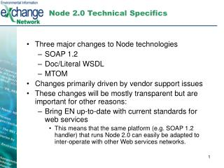 Node 2.0 Technical Specifics