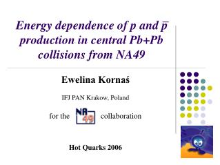 Energy dependence of p and p     production in central Pb+Pb collisions from NA49