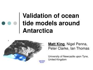 Validation of ocean tide models around Antarctica