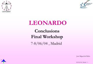 Conclusions Final Workshop