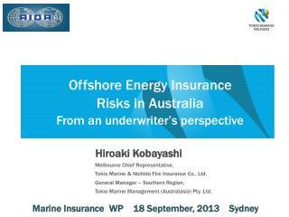 Offshore Energy Insurance