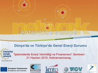 Dünya'da ve Türkiye'de Genel Enerji Durumu