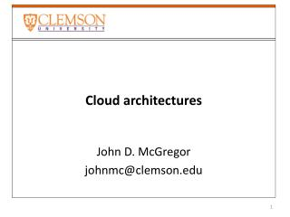 Cloud architectures