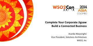 Complete Your Corporate Jigsaw Build a Connected Business