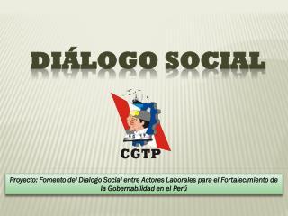 DIÁLOGO SOCIAL