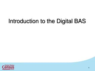 Introduction to the Digital BAS