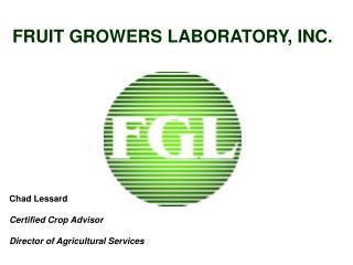 FRUIT GROWERS LABORATORY, INC.