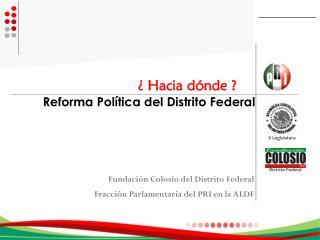 Reforma Política del Distrito Federal